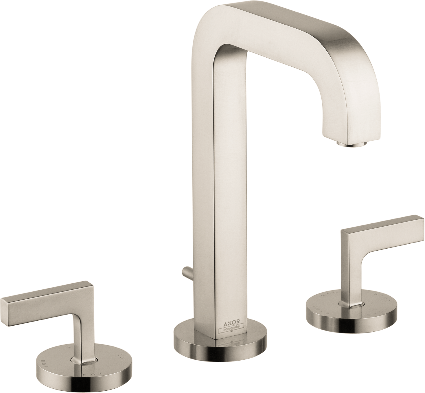 Axor AXOR Citterio Widespread Faucet with Lever Handles, 1.2 GPM