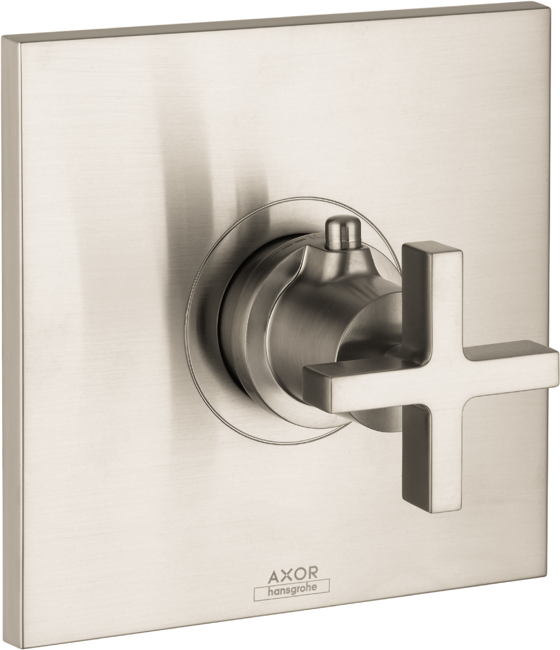 Axor AXOR Citterio Thermostatic Trim with Cross Handle, Highflow