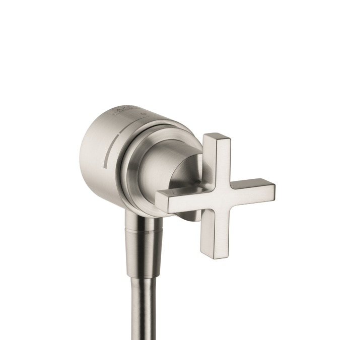 Axor Axor Citterio Fix Fit Wall Outlet with Cross Handle