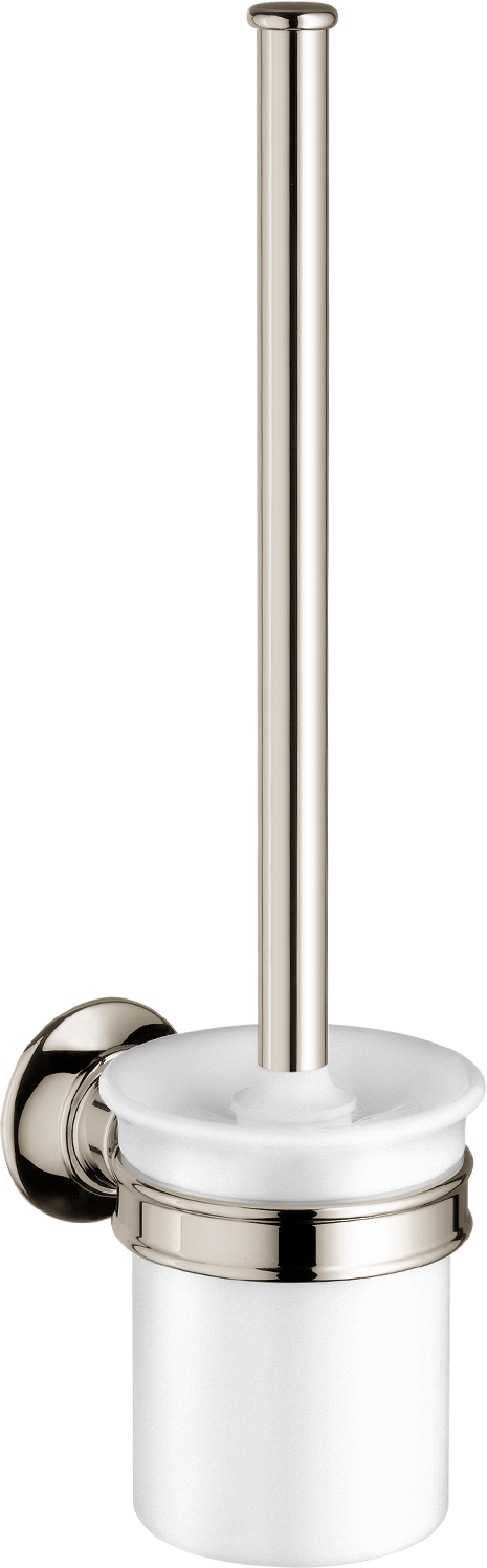 Axor AXOR Montreux Toilet Brush with Holder, Wall-Mounted