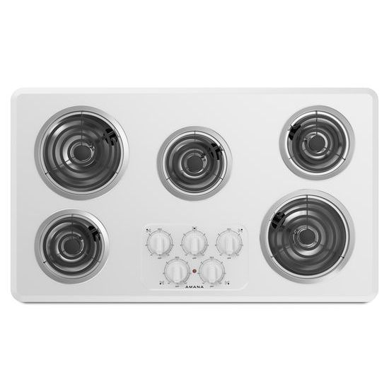 36-inch Electric Cooktop with 5 Elements