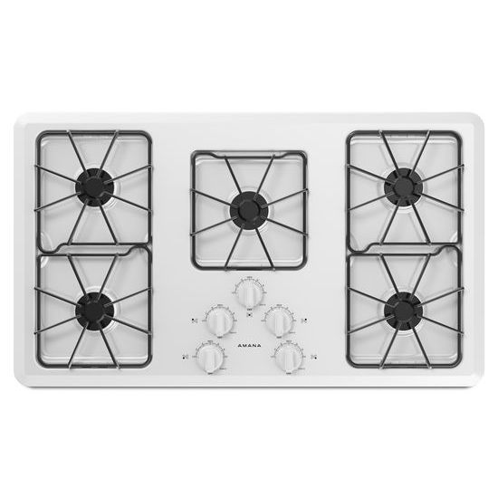 36-inch Gas Cooktop with Front Controls