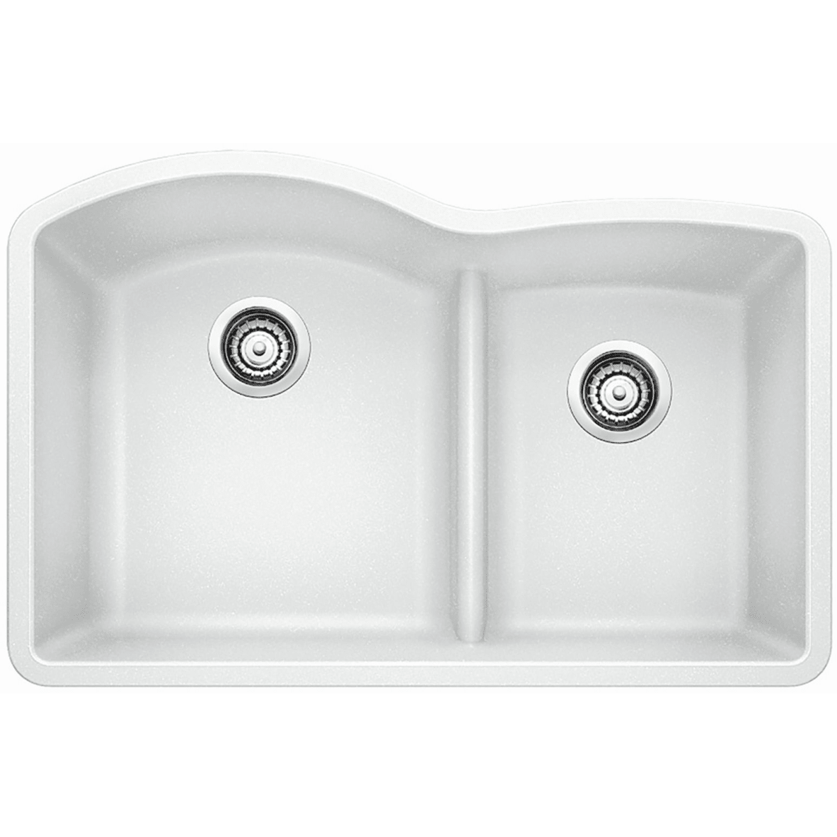 "Blanco Diamond 32"" Undermount Double Basin Composite Kitchen Sink"