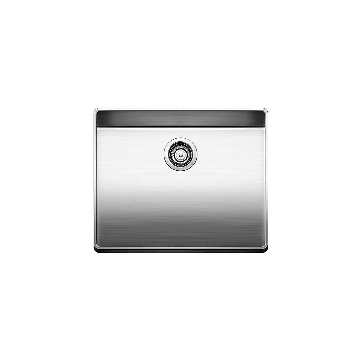 "Blanco Attika 19-3/4"" Single Bowl Drop In Stainless Steel Kitchen Sink"