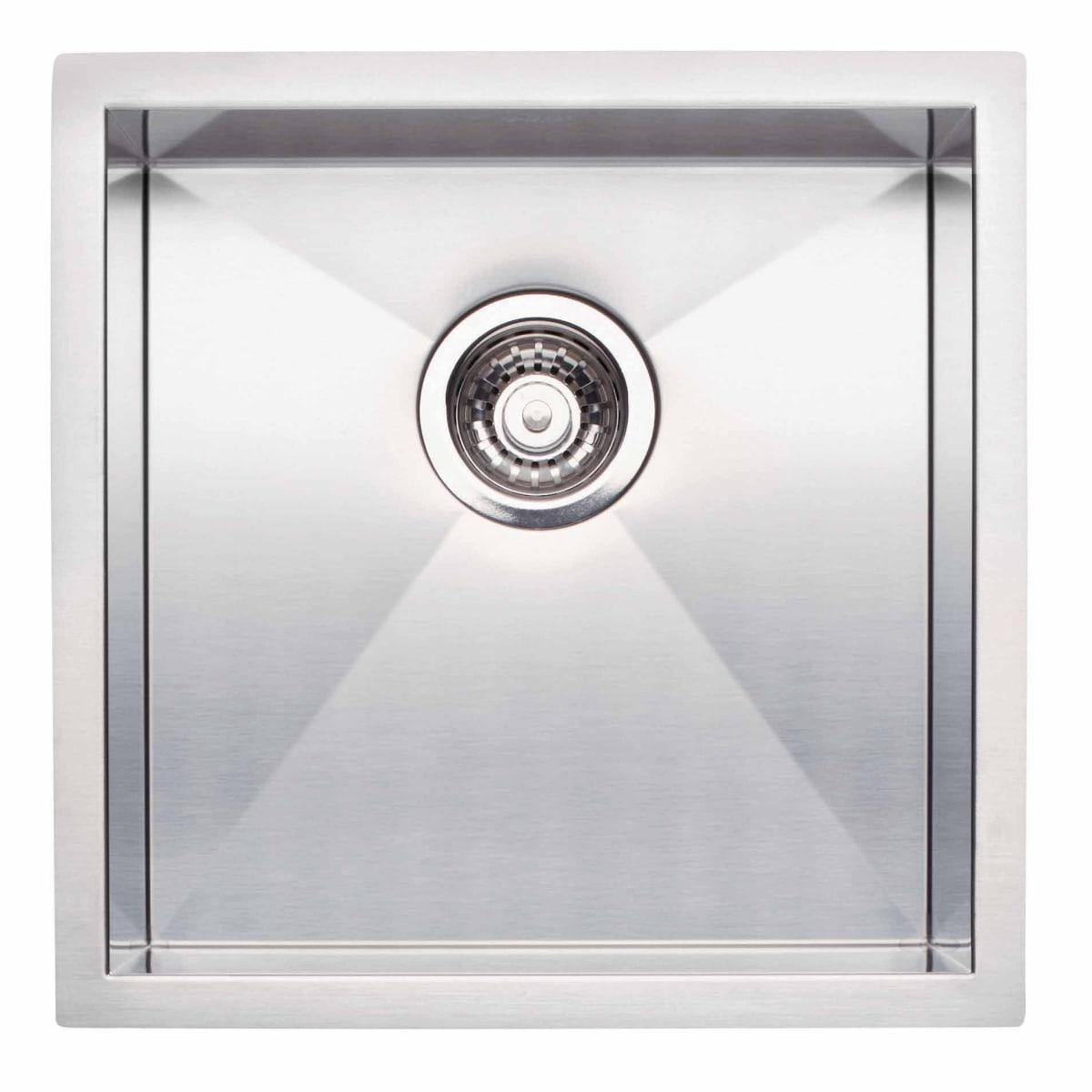 "Blanco Quatrus Bar Sink Undermount Single Basin 17"" x 17"""