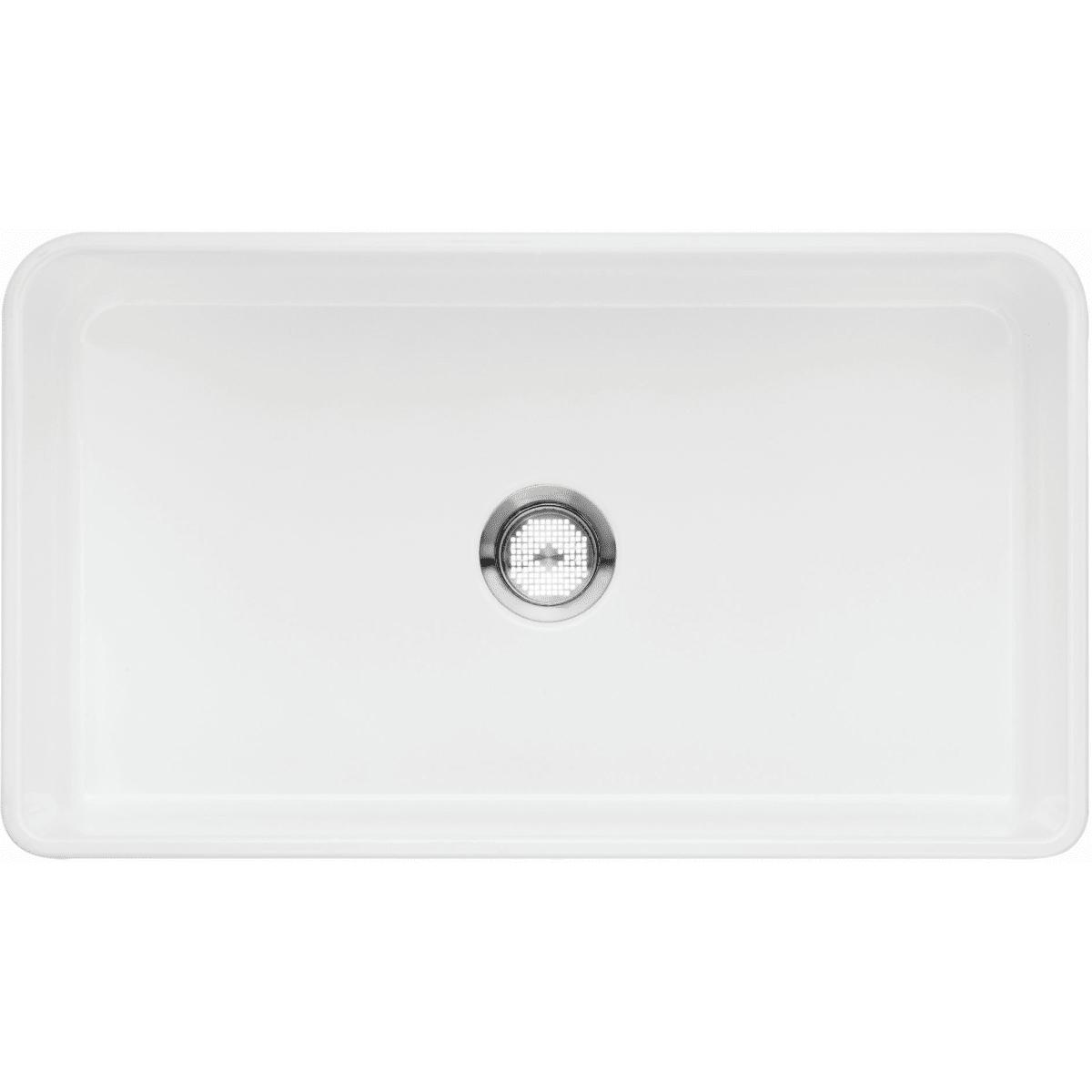 "Blanco Cerana 33"" Farmhouse Single Basin Fireclay Kitchen Sink"