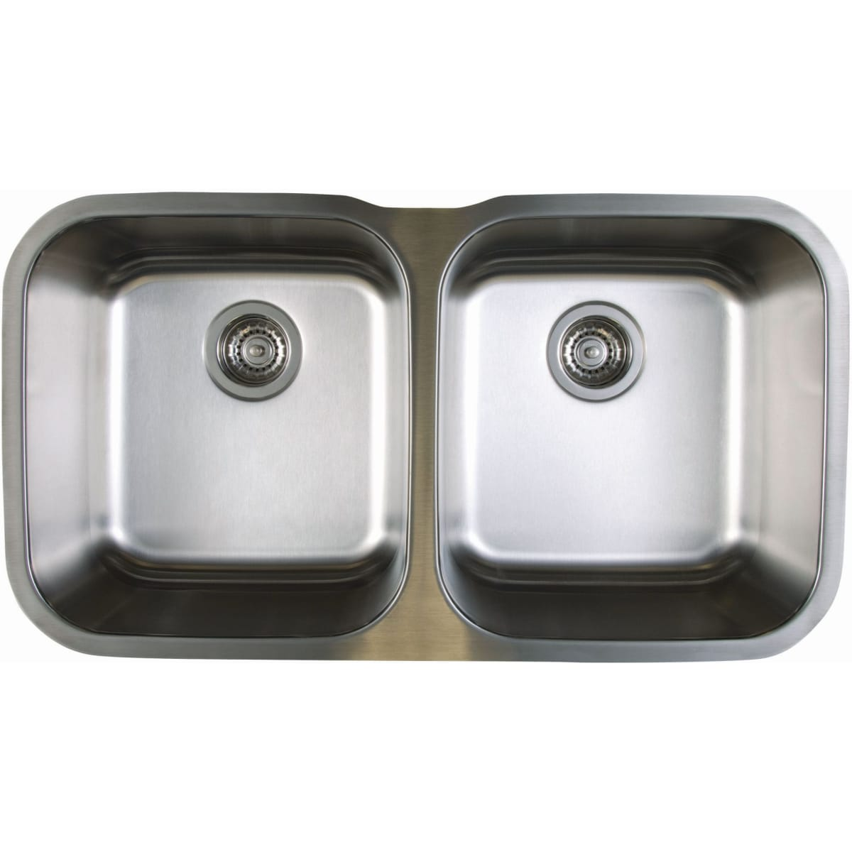 "Blanco Stellar Equal Double Bowl Stainless Steel Undermount Kitchen Sink 33 1/3"" x 18 1/2"""