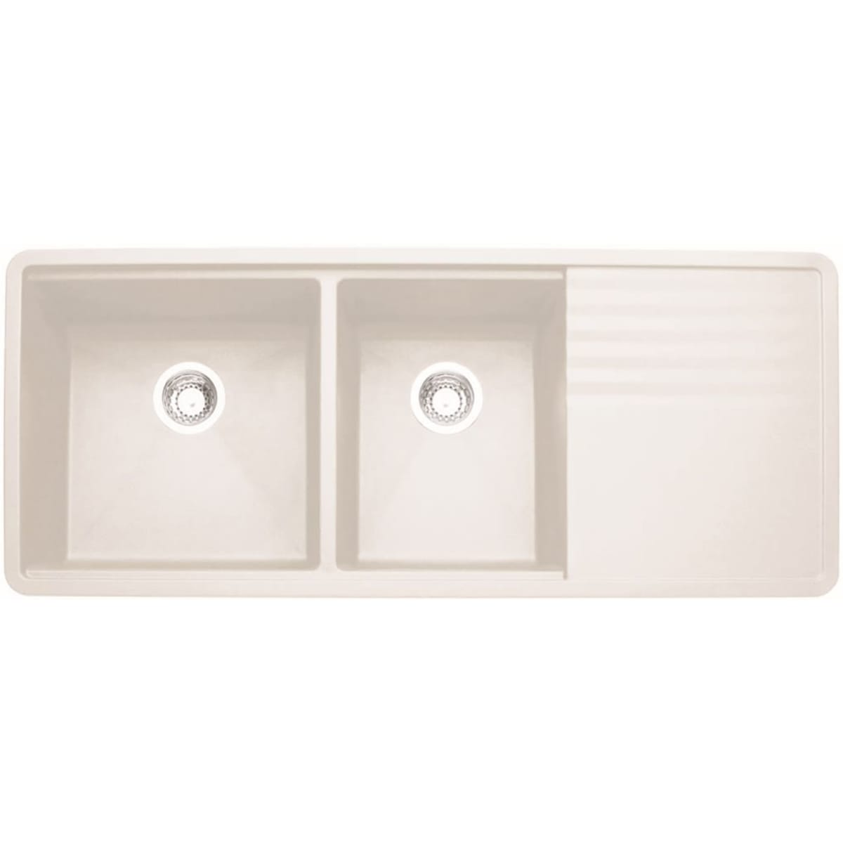 "Blanco Precis 48"" Undermount Double Basin Composite Kitchen Sink"