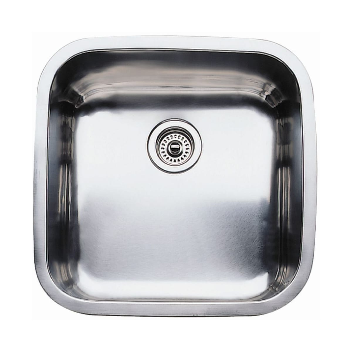 "Blanco Supreme Single Basin Stainless Steel Kitchen Sink 20-1/2"" x 2-1/2"""