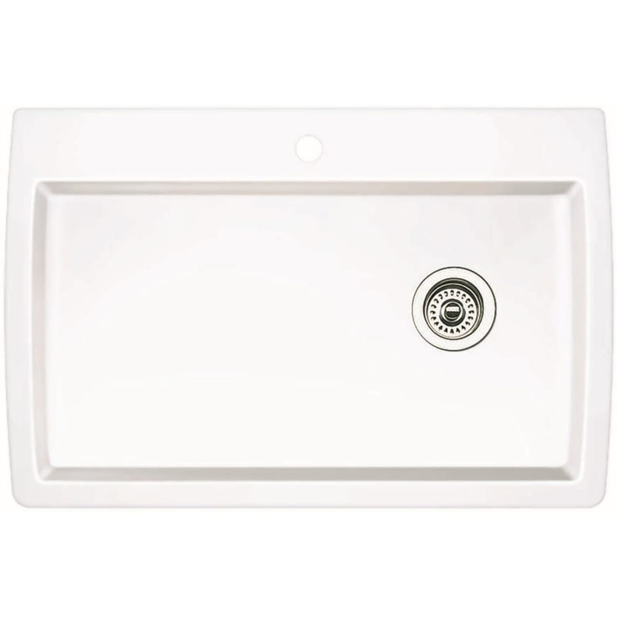 "Blanco Diamond 33-1/2"" Drop In Single Basin Composite Kitchen Sink"