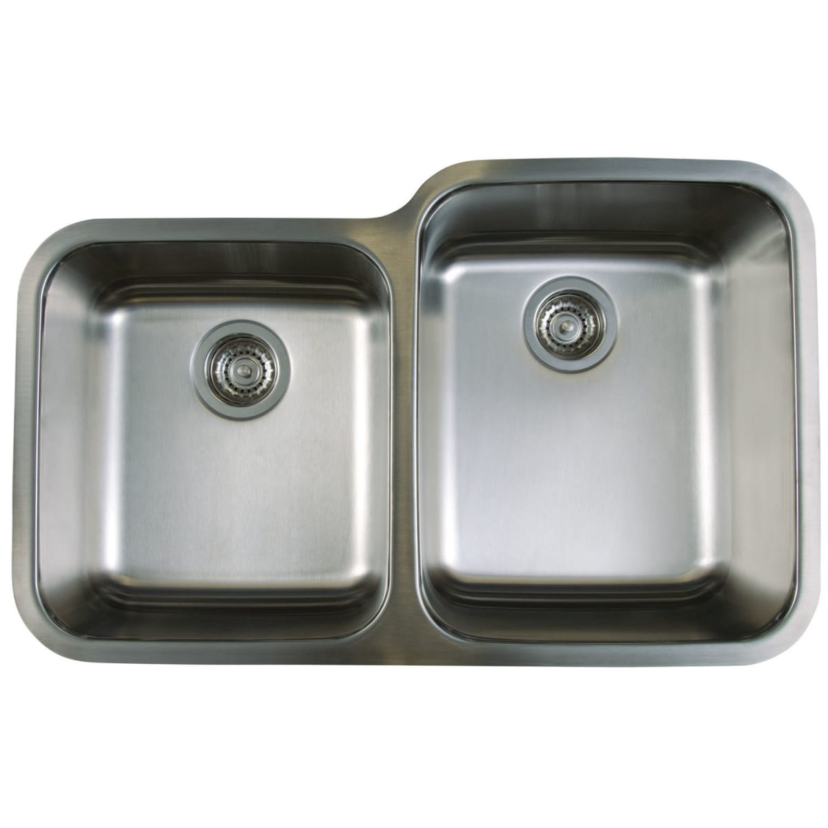 "Blanco Stellar Stainless Steel Undermount Double Basin Kitchen Sink 32.33"" x 20.5"""