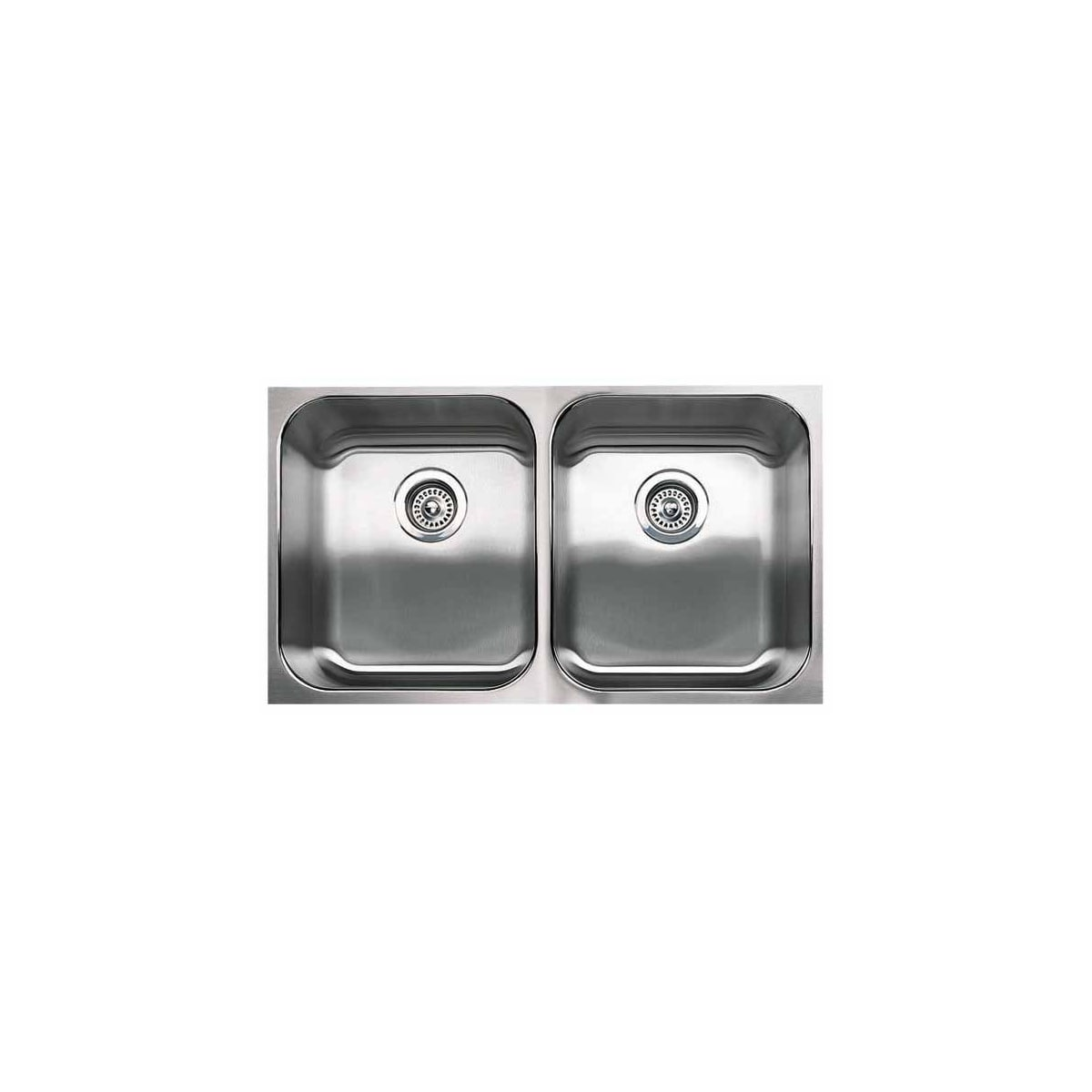 "Blanco Spex 31-1/8"" Undermount Double Basin Stainless Steel Kitchen Sink"