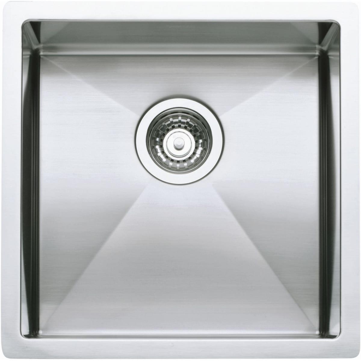 "Blanco Precision Single Basin Stainless Steel Bar Sink 17"" x 17"""