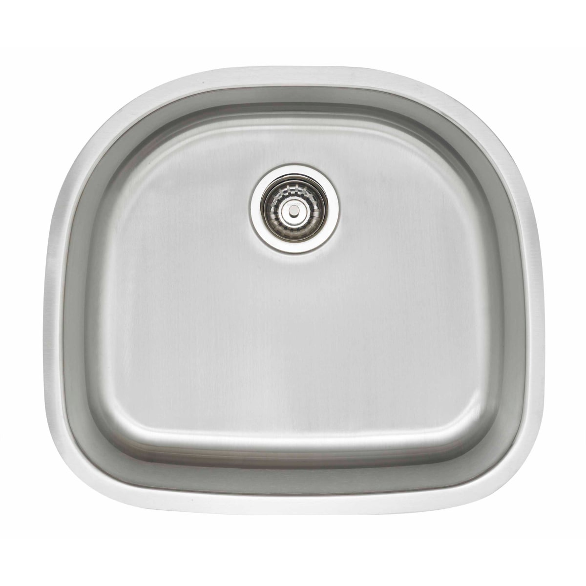 "Blanco Stellar 23-3/8"" Single Basin Undermount Stainless Steel Kitchen Sink"