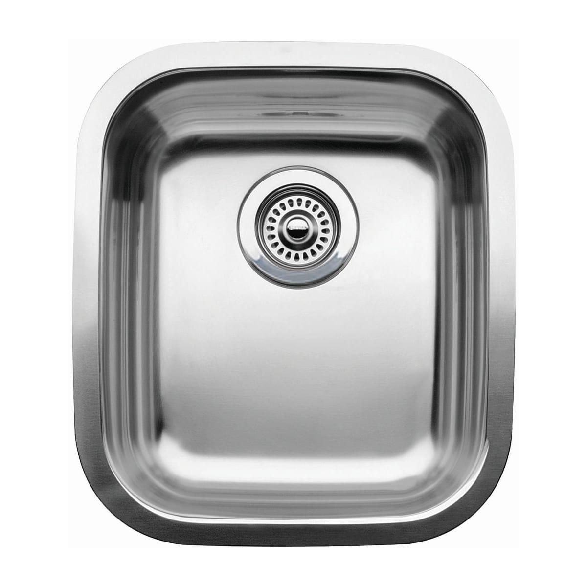 "Blanco Wave Single Basin Stainless Steel Undermount Bar Sink 15-9/16"" x 17-3/4"""