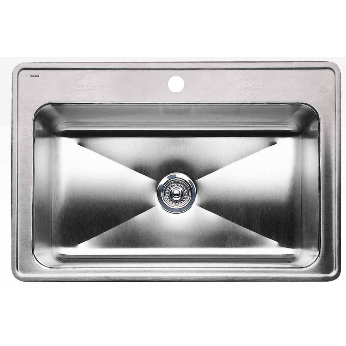 "Blanco Magnum 33"" Drop In Single Basin Stainless Steel Kitchen Sink"