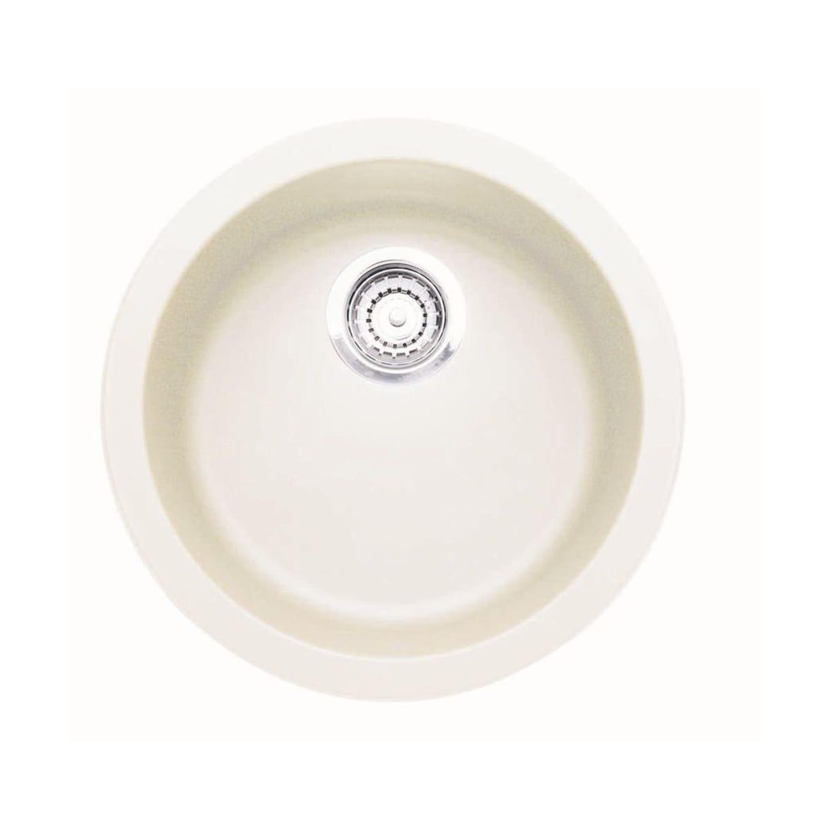 "Blanco Rondo 18-1/8"" Drop In Single Basin Composite Kitchen Bar Sink"