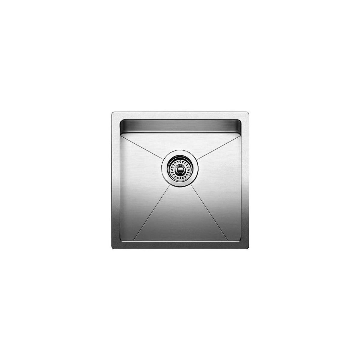 "Blanco Quatrus 15"" Single Basin Undermount Stainless Steel Bar Sink"