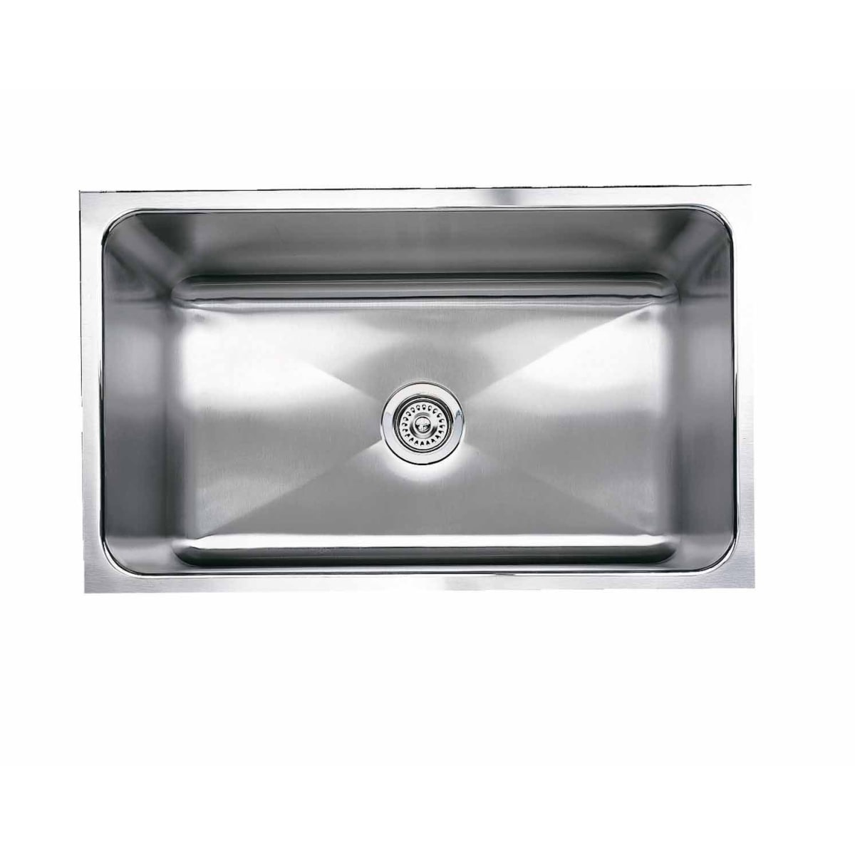 "Blanco Magnum 31-1/4"" Undermount Single Basin Stainless Steel Kitchen Sink"