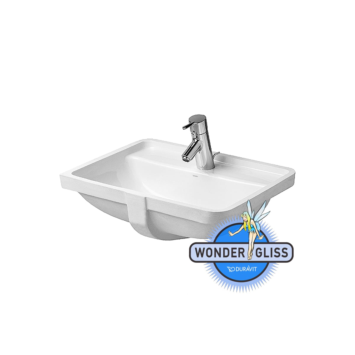 Duravit 03024900001 Starck 3 Ceramic 20 11 16 Undermount Bathroom Sink With Single Faucet Hole And Overflow 03024900001 Snyder Diamond