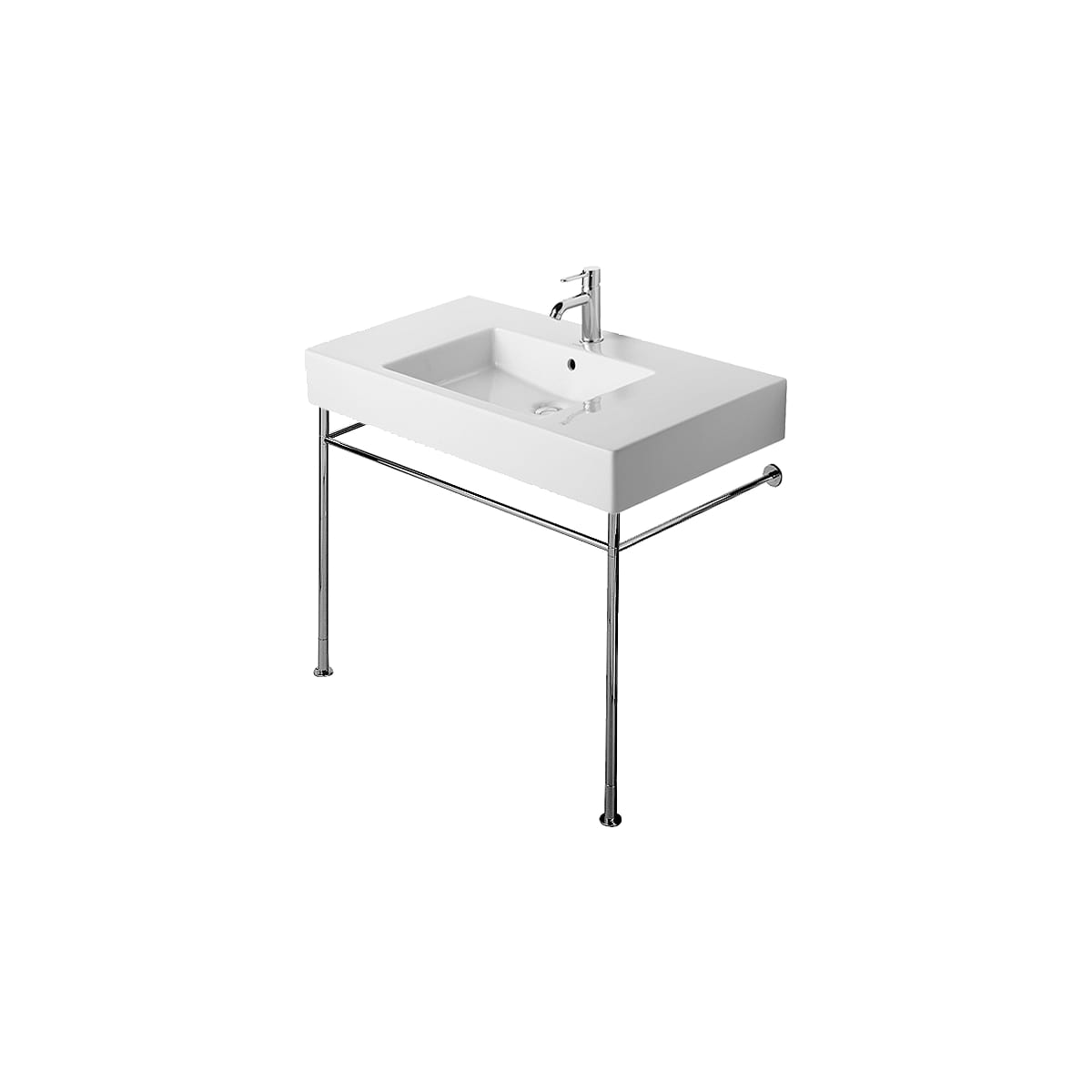 Duravit Vero Metal Console with Adjustable Height - Console Only