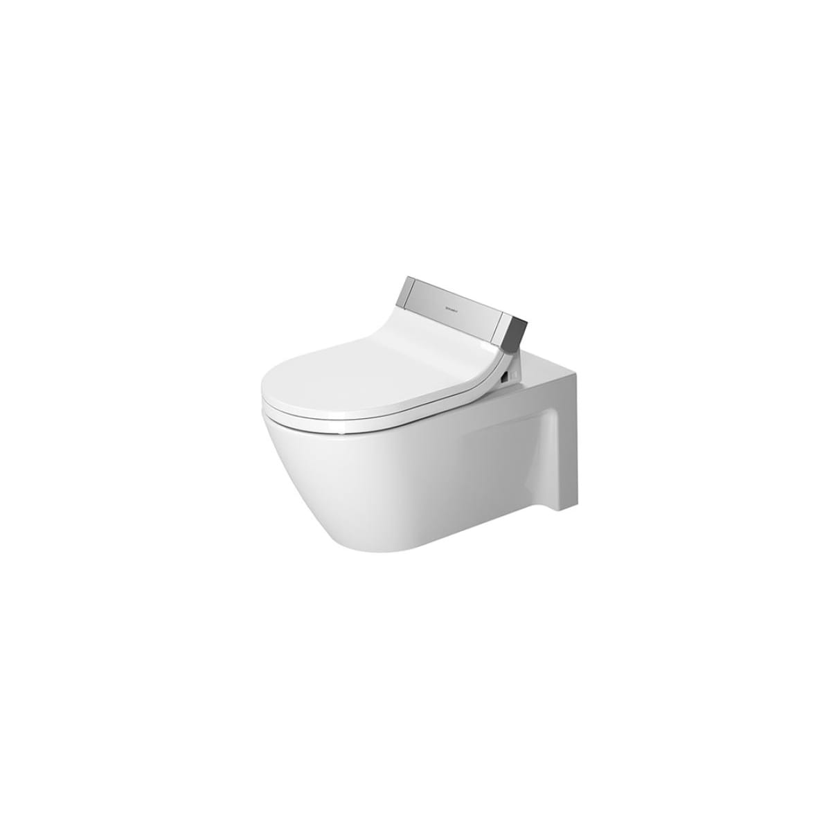 Duravit Stark 2 Wall Mounted One-Piece Elongated Toilet - Less Seat and Concealed Tank
