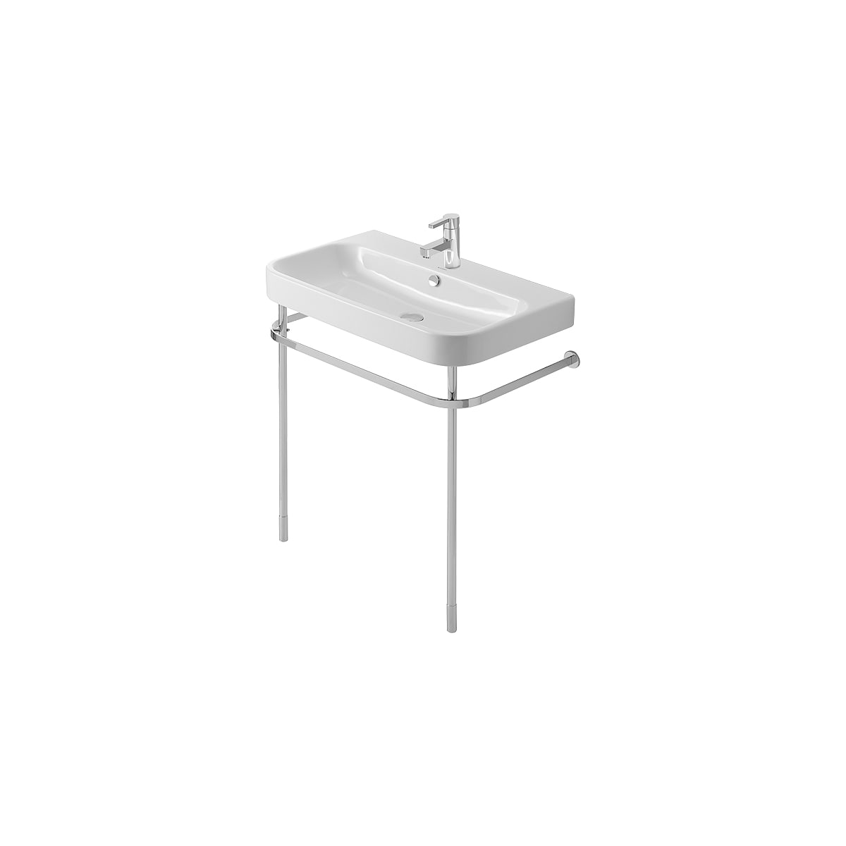Duravit Happy D.2 Metal Console with Adjustable Height