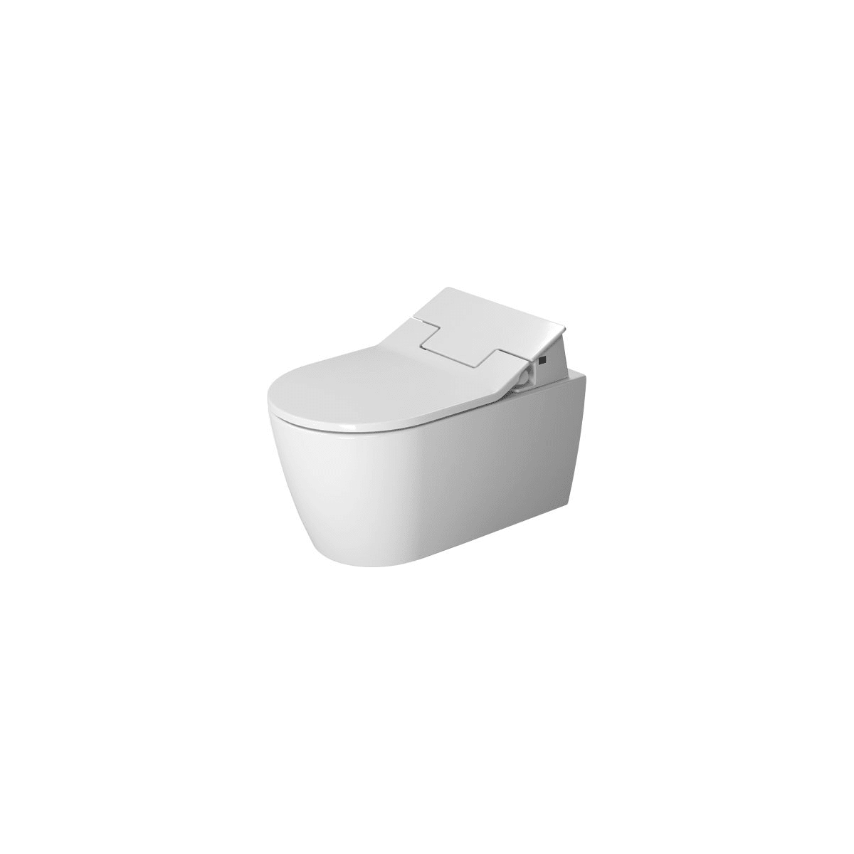 Duravit ME By Starck 0.8 / 1.6 GPF Wall Mounted One-Piece Elongated Toilet - Less Seat and Concealed Tank