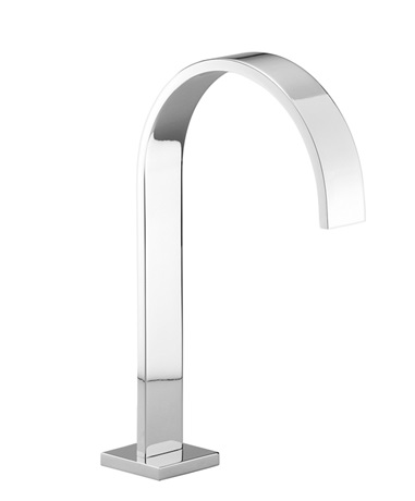 DornBracht Deck-mounted basin spout with pop-up waste