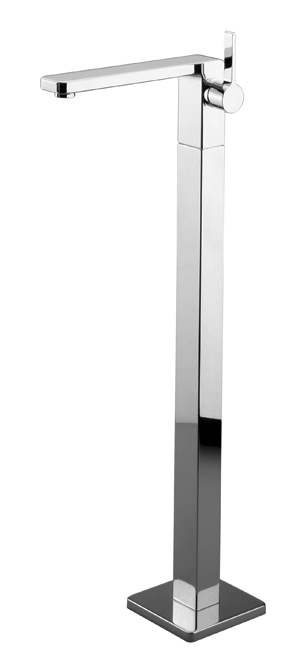 DornBracht Single-lever lavatory mixer on riser without drain - polished chrome
