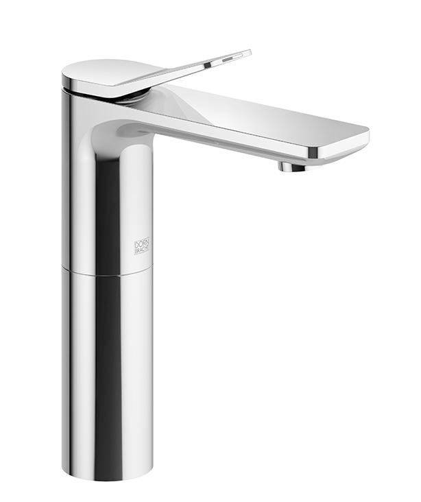 DornBracht Single-lever lavatory mixer with raised spout without drain - platinum matte
