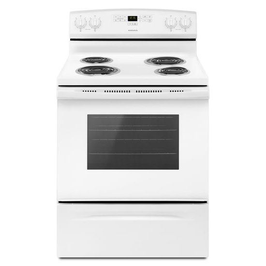 30-inch Electric Range with Bake Assist Temps