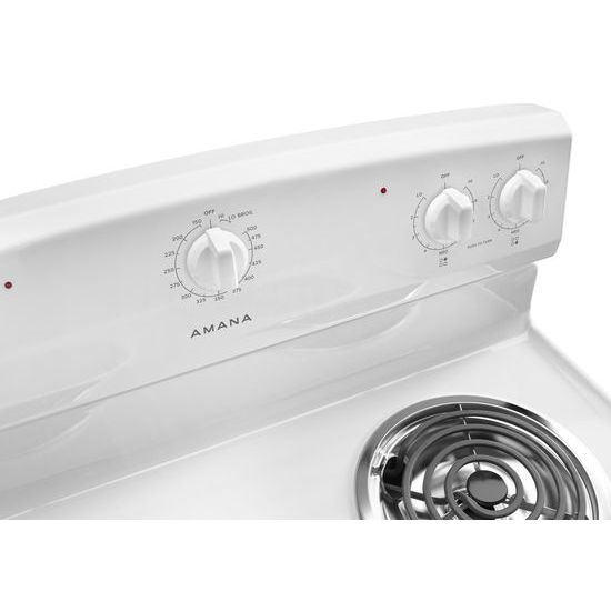 30-inch Electric Range with Warm Hold