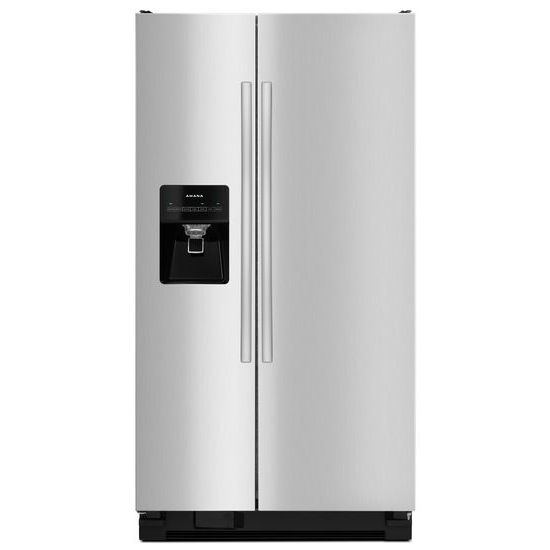 Model: 4ASI2575FRSWEB | Side-by-Side Refrigerator with Dairy Center
