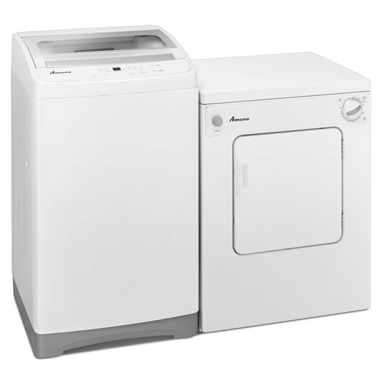 3.4 Cu. Ft. Compact Dryer with Automatic Dryness Control