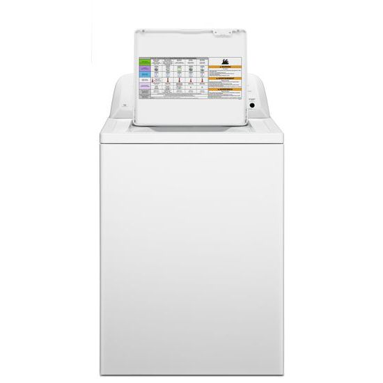 3.5 cu. ft. Top-Load Washer with Dual Action Agitator