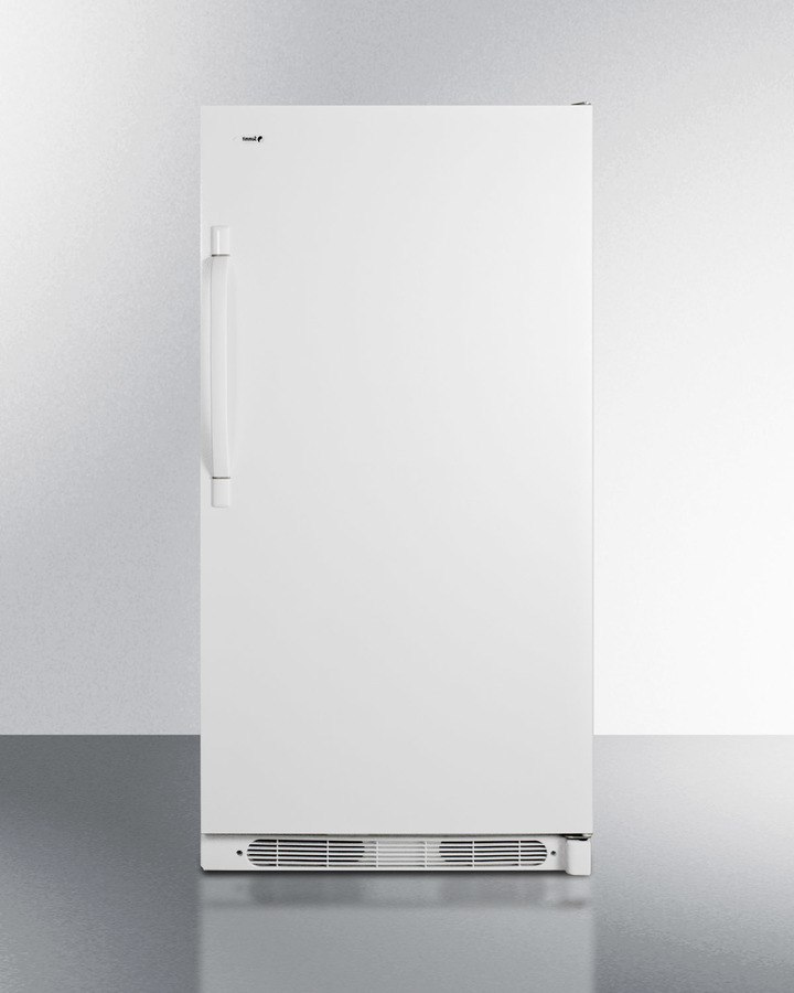 Summit Large capacity all-refrigerator with frost-free operation and fan-forced cooling