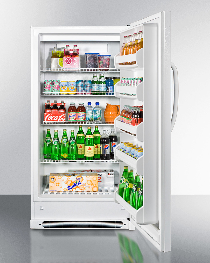 Model: R17FF | Summit Large capacity all-refrigerator with frost-free operation and fan-forced cooling