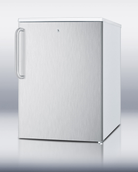 SUMMIT FSM50LESSSSTB is an ideally sized counter height all-freezer designed for household use.