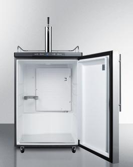 Model: SBC635MBI7SSHV | Summit Digital thermostat lets you set the ideal temperature for keg service