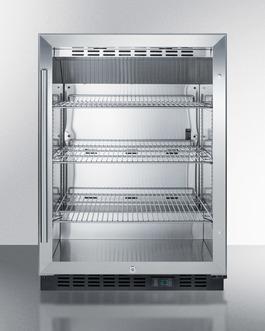 Stainless steel interior for better sanitation