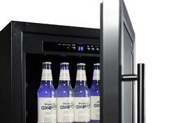 "Model: SCR1841BADA | Summit 18"" Wide Built-In Beverage Center, ADA Compliant"