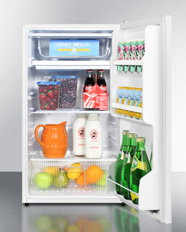 "Model: FF412ESADA | Summit 19"" Wide Refrigerator-Freezer, ADA Compliant"