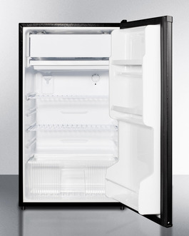 Model: FF433ES | Summit Full automatic defrost operation in both refrigerator and freezer sections