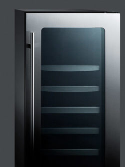Model: CL151WBVCSS | Summit Ultra thin tinted door with seamless stainless steel trim