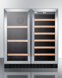 Summit Dual zone design allows you to store craft beer and wine in elegant style