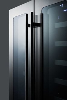 Model: CL242WBVCSS | Summit Ultra thin tinted doors with seamless stainless steel trim