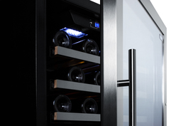 Model: SWC1987T | Three independent temperature zones let you store red, white, and sparkling wine