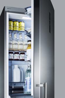 Model: FFBF181ESBIIM | Summit Built-in counter depth bottom freezer refrigerator