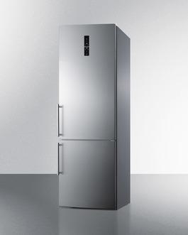 "Model: FFBF249SS | Summit 24"" Wide Bottom Freezer Refrigerator"